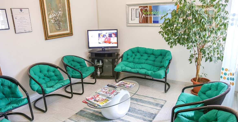 Dentista Sassari: sala d'attesa